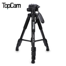 2016 New Zomei Q111 Professional Tripod Portable Pro Aluminium Tripod Camera Stand with 3-way Pan Head for Digital Dslr