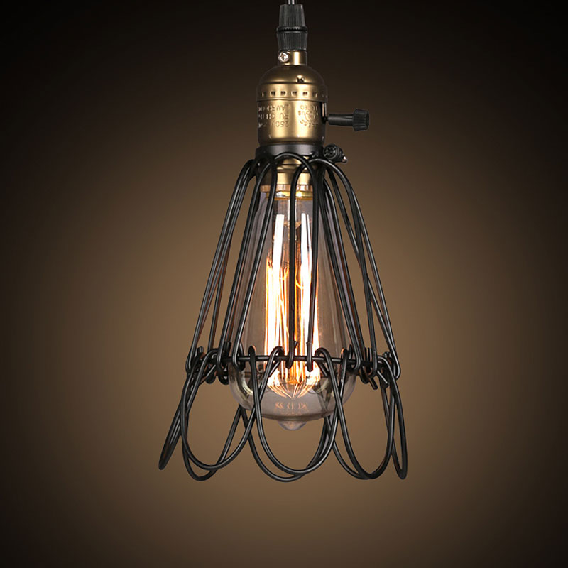 America Country Base Lampen Kitchen Light Lustre Pendant Lights Led Lamps For Living Room Luminaire Suspendu Industrial Lighting<br><br>Aliexpress