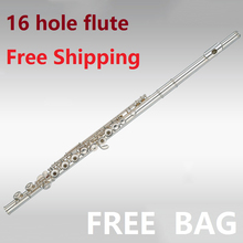 Freight free E key nickel copper beginner employs C flute instrument preferred good quality flute playing beginners applicable(China)