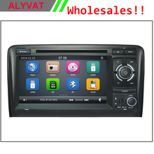 Wholesales Super deal! 7 inch Car DVD Player GPS Navigation For Audi A3 S3 2003 2004 2005 2006 Radio AM FM USB SD Free map(China)