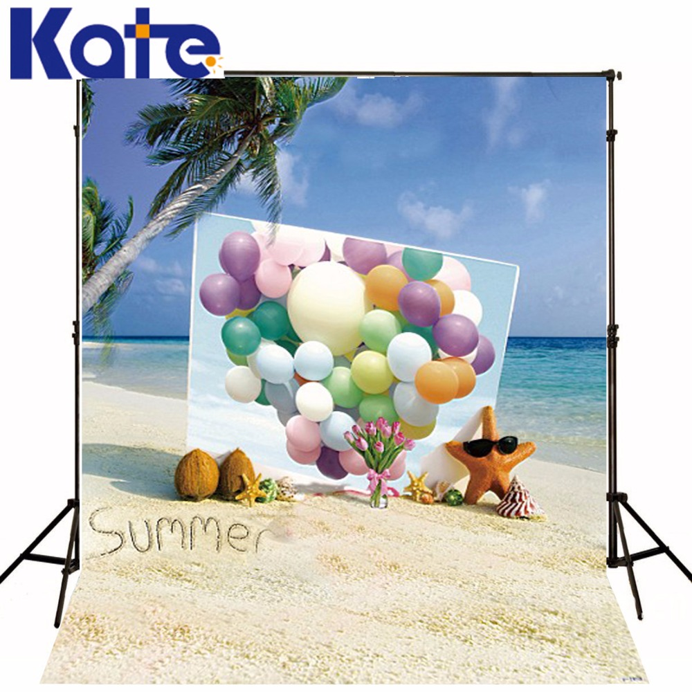 5*6.5Ft(150*200Cm)Kate Photography Backdrops Fundo Summer Sea Starfish Backgrounds For Photo Studiolk 2193<br>
