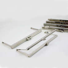 8 inches (20 cm) Large Silver Clutch Purse Frame 16 pcs/lot