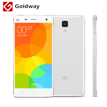 "Original Xiaomi Mi4 M4 Mi 4 3G WCDMA Mobile Phone 5.0"" FHD 1920*1080P Snapdragon801 Quad Core 3GB RAM 16GB ROM 13MP Camera"