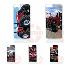 Massey Ferguson Tractors For Apple iPhone 4 4S 5 5C SE 6 6S 7 Plus 4.7 5.5 iPod Touch 4 5 6 Phone case cover