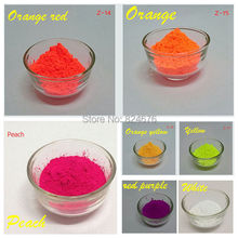 Mixed 5 Colors Neon Powder Fluorescence Pigment Phosphor Powder Fluorescent Powder for Make up Nail art DIY Soap 50g(China)