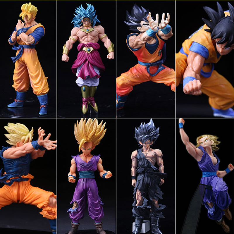 Toys & Hobbies Anime 17cm Dragon Ball Z Action Figures Son Goku Super Saiyan Gohan Vegeta Dxf Anime Dragonball Kai Figures Model Toys Dbz Gift Grade Products According To Quality