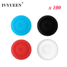 Buy IVYUEEN 100 pcs Nintend Switch Joy-Con Controller Silicone Thumb Sticks Grips Cover NS Joy Con Stick Caps Accessories for $7.64 in AliExpress store