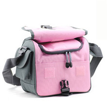 Camera video bag Blue or Pink waterproof DSLR shoulder bag case for NIK D7100 D7000 D5200 D5100 D3200 D3100 D3000 D800 D600 D300