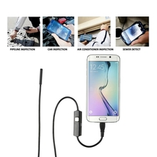 1.3 Million Pixels Android Mobile Phone USB 5.5mm Mirco Endoscope 6 LED IP67 Waterproof Mini Endoscope Inspection Camera(China)