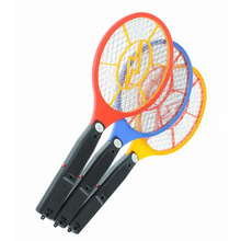 New Arrival Handheld Electronic Mosquito Bug Zapper Fly Swatter Racket LED Light Indicator for Camping Hiking