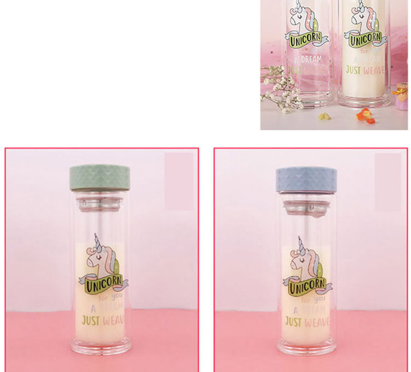 Double Wall Glass Water Bottle 10