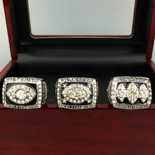 Free shipping Ring Sets voor Replica Super Bowl 3 Set 1976/1980/1983 Oakland Raiders Kampioenschap Ring(China)