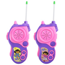 2pcs/set DORA Cartoon Toy Interphone Children Game Intercom Electronic Toy Walkie Talkies Toys For Kid Gifts Super cool