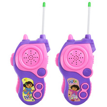 Buy 2pcs/set DORA Cartoon Toy Interphone Children Game Intercom Electronic Toy Walkie Talkies Toys Kid Gifts Super cool for $13.45 in AliExpress store