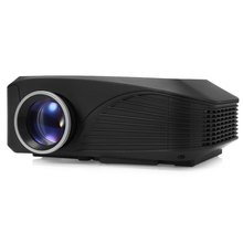 In Stock ! H809 LED Projector 1000LM 800 x 600 Pixels HD 1080P Smart Media Player With TF Card / USB / HDMI / AV / VGA Input
