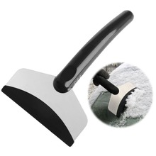 Portable Car Windshield Snow Removal Scraper Ice Shovel Window Cleaning Tool-D2TB