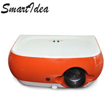 Much Value Money SmartIdea W1 Portable LED Projector Support Full HD LCD Video Games 3D Multimedia HDMI Proyector Beamer