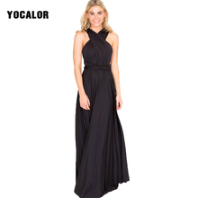 Buy YOCALOR Summer Sexy Long Bandage Multiway Convertible Dresses Women Beach Infinity Wrap Robe Maxi Dress Vestidos Party Boho for $13.51 in AliExpress store