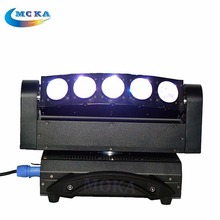 stage light 5x10W led Beam light  5 Heads Led Beam Moving Head Wash Lights RGBW 4in1 led Moving head light