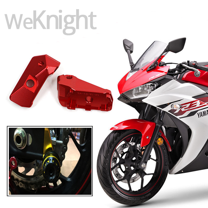 New arrival Motorcycle Accessories Motorcycle modified Motorcycle rear fork adjustment Chain adjuster for YAMAHA YZF-R3 15-16 R3<br>