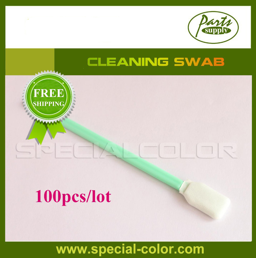 100pcs/bag Printer Cleaning Swab for Roland/Mimaki/Mutoh<br>