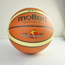 2017 Molten GY7 Men's Basketball Ball PU Leather Material Official Size 7 Indoor Outdoor Basketball Free With Net Bag+ Needle(China)