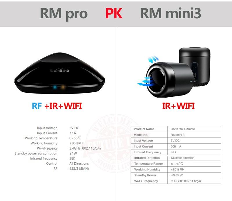 RM pro PK RM mini3
