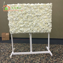 sweet new home Artificial silk rose flower wall wedding background lawn/pillar flower road lead home market decoration