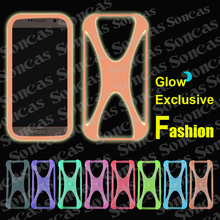 Newest Fashion Silicon Soft Exclusive Universal Bumper Cool Glow Phone Case For MTC Smart Sprint + Free Gift