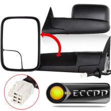 Eccpp Towing Mirrors Fit 1998 - 2001 Dodge Ram 1500 1998 - 2002 Ram 2500 3500 Turck Power Heated Side View Mirror Pair LH + RH(China)