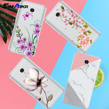 Peach blossom Lotus leaf case For xiaomi Redmi 3 3S 4A 4X 4 4S Note 3 Note 4 Note 4X cover(China)