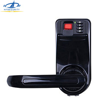 Bio Safe Biometric Fingerprint Door Lock Digital Fingerprint Password Key Lock Black Home Security Electronic Door Lock LS9(China)