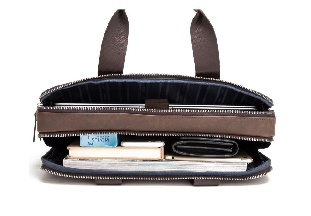 Men's Genuine leather briefcase