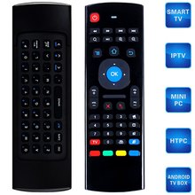 Brand New M3 2.4GHz 81 Keys Mini Wireless Air Mouse Remote Control Support Android Windows Mac OS Linux
