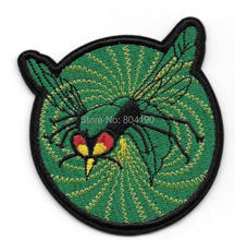 "3"" The Green Hornet TV Series and Comics Logo patch Embroidered Movie TV Series applique iron on badge New Film"