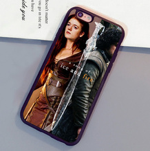 Game of Throne Ygritte & Jon Snow Mobile Phone Cases For iPhone 6 6S Plus 7 7 Plus 5 5S 5C SE 4S Soft Rubber Skin Back Cover