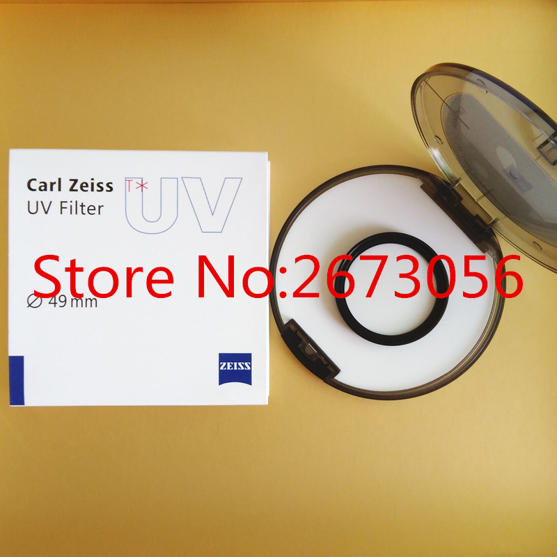 Carl Zeiss T* UV Filter 49mm Anti-reflective Coating Lens Filters For Pentax Canon Nikon Sony Olympus Leica Camera Lens<br><br>Aliexpress