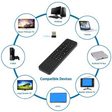 Air Mouse Micro Keyboard 2-in-1 2.4GHz Wireless Control with USB Receiver Free Shipping H7T07