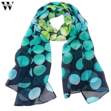Amazin 2017 New Fashion Summer Women's Shawls and Scarves Female Chiffon Scarf