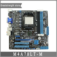 For ASUS M4A78LT-M desktop Motherboard Socket AM3 DDR3 760G CM1730-01 Mainborad original 100% tested