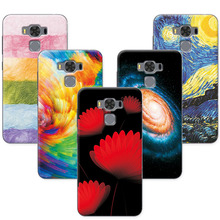 Soft TPU Coque Asus Zenfone 3 Max ZC553KL 5.5 inch Case Cover Scenery Painting Phone Cases ( ) - Colorful Electronic Equipment Trade Company store