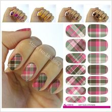 2017 Promotion New Fashion Water Transfer Foil Nail Stickers All Kinds Of Art Design Patterns Decorative Decal