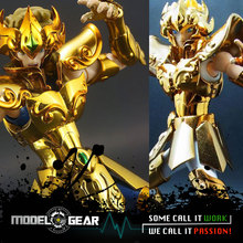 Metal Club MC Metalclub Model  Leo Aiolia Saint Seiya Metal Armor Myth Cloth Gold Ex Action Figure Toys TV Ver. OCE Ver.
