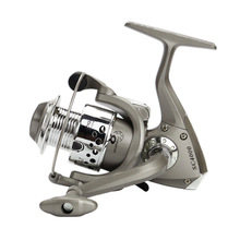 YUMOSHI Beginner Angler Cheap Fishing Reels Plastic Base 1000 - 5000 Series 8BB Spincast Reel In Disount Fishing Spinning Reel(China)