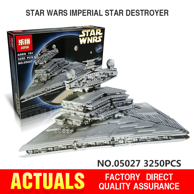 2016 New LEPIN 05027 3250Pcs Star Wars Imperial St...