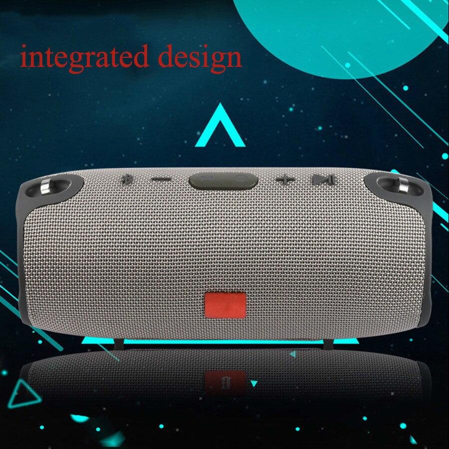 7 2018 Portable TF Card USB FM Radio Line in Wireless Fabric BT Speakers