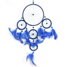 Rings Floating Feathers Dreamcatcher LZ1556 Car Home Decorations Ornaments Multicolor Optional