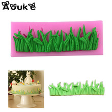 Grass Shape Cake Decorative Silicone Mold Fondant Cookie Chocolate Mould Candy Cake Pudding Muffin Molds DIY Baking Tools M024