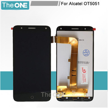 For Alcatel Pop 4 5051 5051D 5051X 5051J 5051M OT5051 OT5051D OT5051X LCD Display Panel + Sensor Touch Screen Complete Assembly