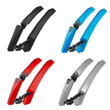 Front Rear Bicycle Fender,Quick Release Mountain Bike Mudguard,Wings Cycling Tire Mud Guard Fender 4 Colors